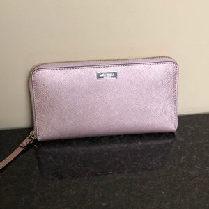 Kate Spade Rose Gold Neda Wallet